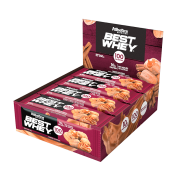 BEST WHEY BAR DISPLAY COM 12 BARRAS BROWNIE CHOCOLATE
