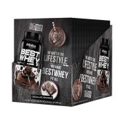 BEST WHEY DISPLAY 15 SACHÊS BROWNIE CHOCOLATE