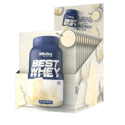 BEST WHEY DISPLAY 15 SACHÊS CHOCOLATE BRANCO