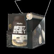 BEST WHEY DISPLAY COM 15 SACHÊS ORIGINAL & CAFÉ