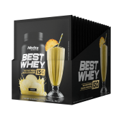 BEST WHEY ISO DISPLAY COM 15 SACHÊS ABACAXI