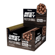 BEST WHEY PROTEIN BALL DISPLAY 12 SACHÊS CHOCOLATE AO LEITE