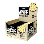BEST WHEY PROTEIN BALL DISPLAY 12 SACHÊS CHOCOLATE BRANCO