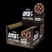 BEST WHEY PROTEIN BALL DISPLAY COM 12 SACHÊS CHOCOLATE AO LEITE