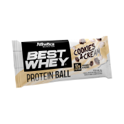 BEST WHEY PROTEIN BALL SACHÊ DOSE ÚNICA 50G COOKIES & CREAM