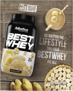 BEST WHEY SACHÊ DOSE ÚNICA BANANA CREAM