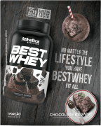 BEST WHEY SACHÊ DOSE ÚNICA BROWNIE CHOCOLATE