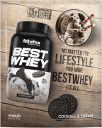 BEST WHEY SACHÊ DOSE ÚNICA COOKIES & CREAM