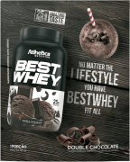 BEST WHEY SACHÊ DOSE ÚNICA DOUBLE CHOCOLATE