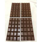Barra de chocolate 45% de cacau ao leite 100g