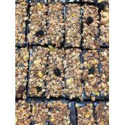 Barrinha de chocolate 60% de cacau com granola 100g