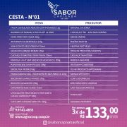 Cesta Sabor Capixaba nº 01