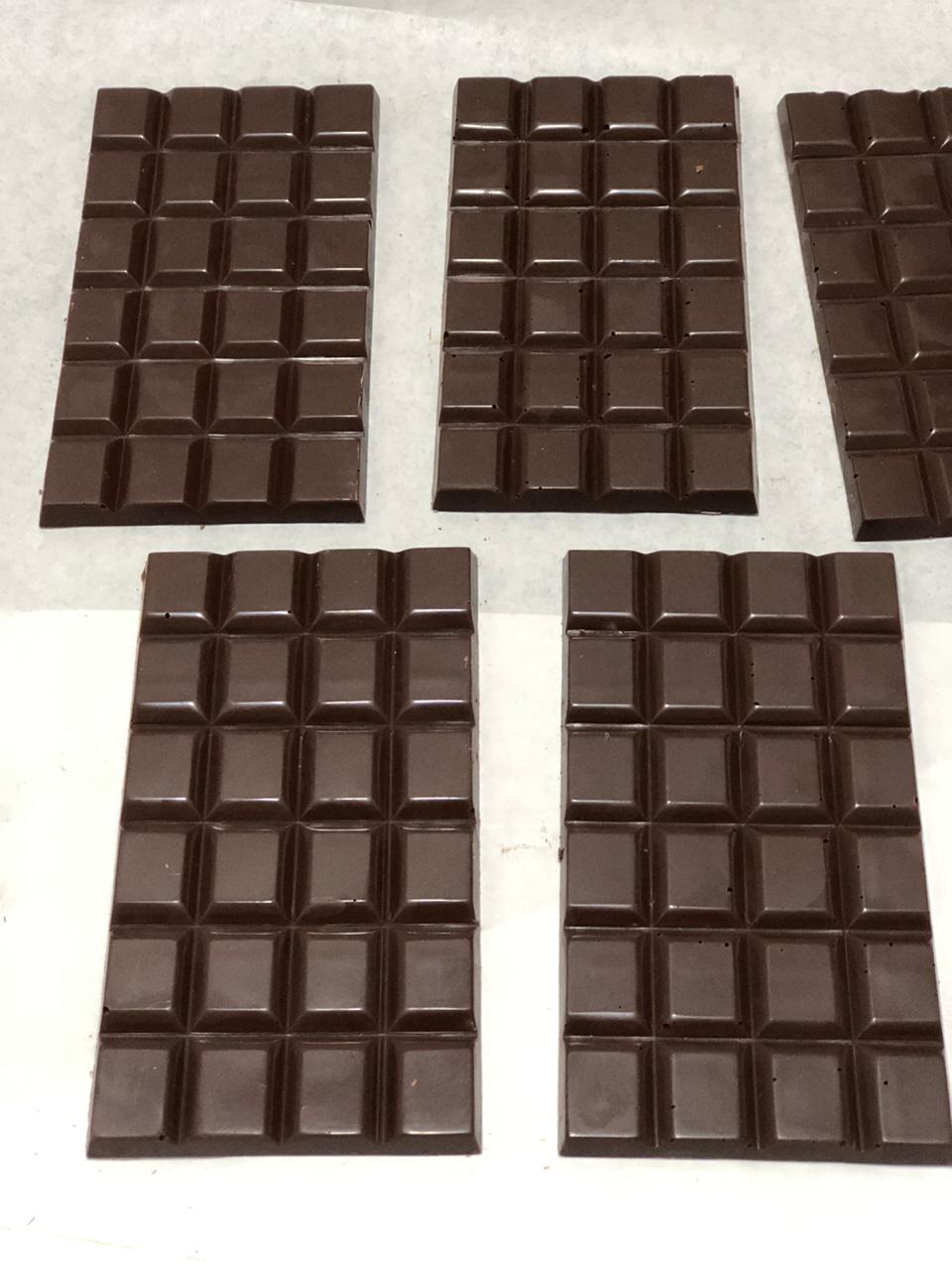 Barra de chocolate 70% de cacau 100g