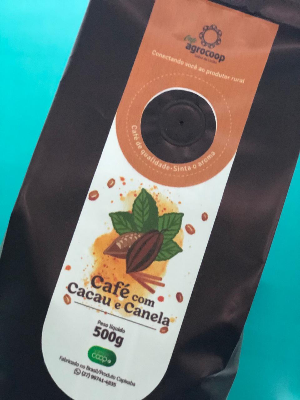 Café Especial com Cacau e Canela AGROCOOP 500g
