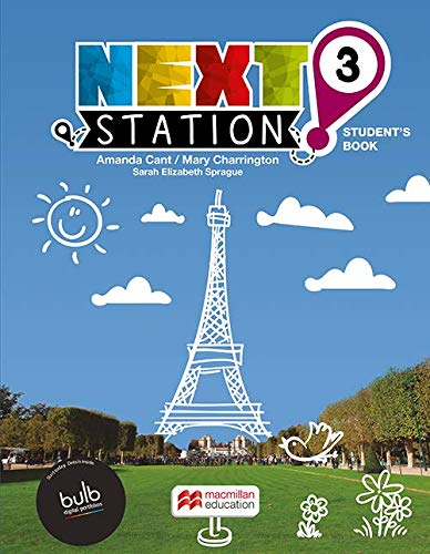 NEXT STATION STUDENTS BOOK WITH WORKBOOK & CLIL WITH BULB - 3