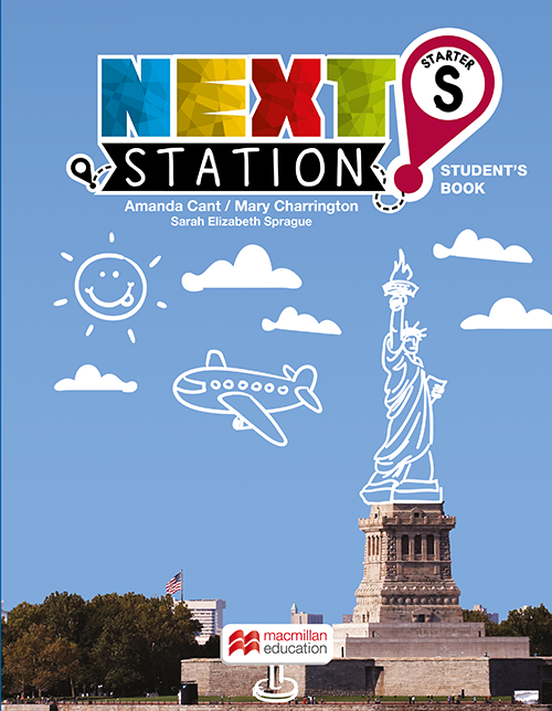 NEXT STATION STUDENTS BOOK WITH WORKBOOK-STARTER