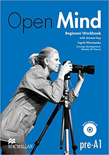 OPEN MIND BEGINNER WB WITH CD AND KEY