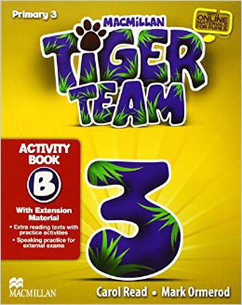 TIGER TEAM 3B ACTIVITY BOOK WITH PROGRESS JOURNAL