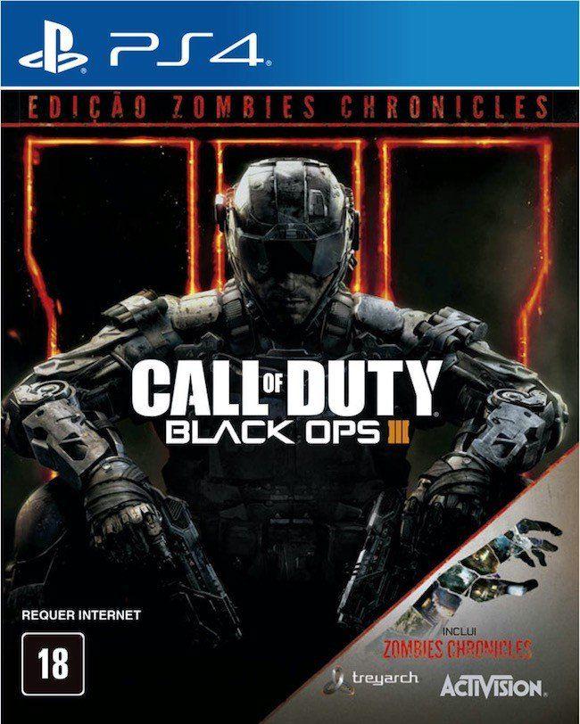 Call of Duty Black Ops III (3): Edição Zombies Chronicles - PS4