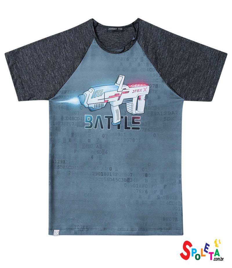 Camiseta masculina manga curta  Batle