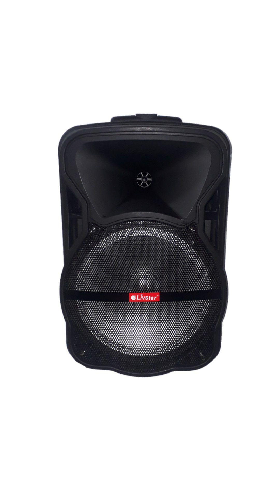 Caixa Amplificada Livstar Cnn8023 Bluetooth Usb Sd Fm Mic  Falante 12