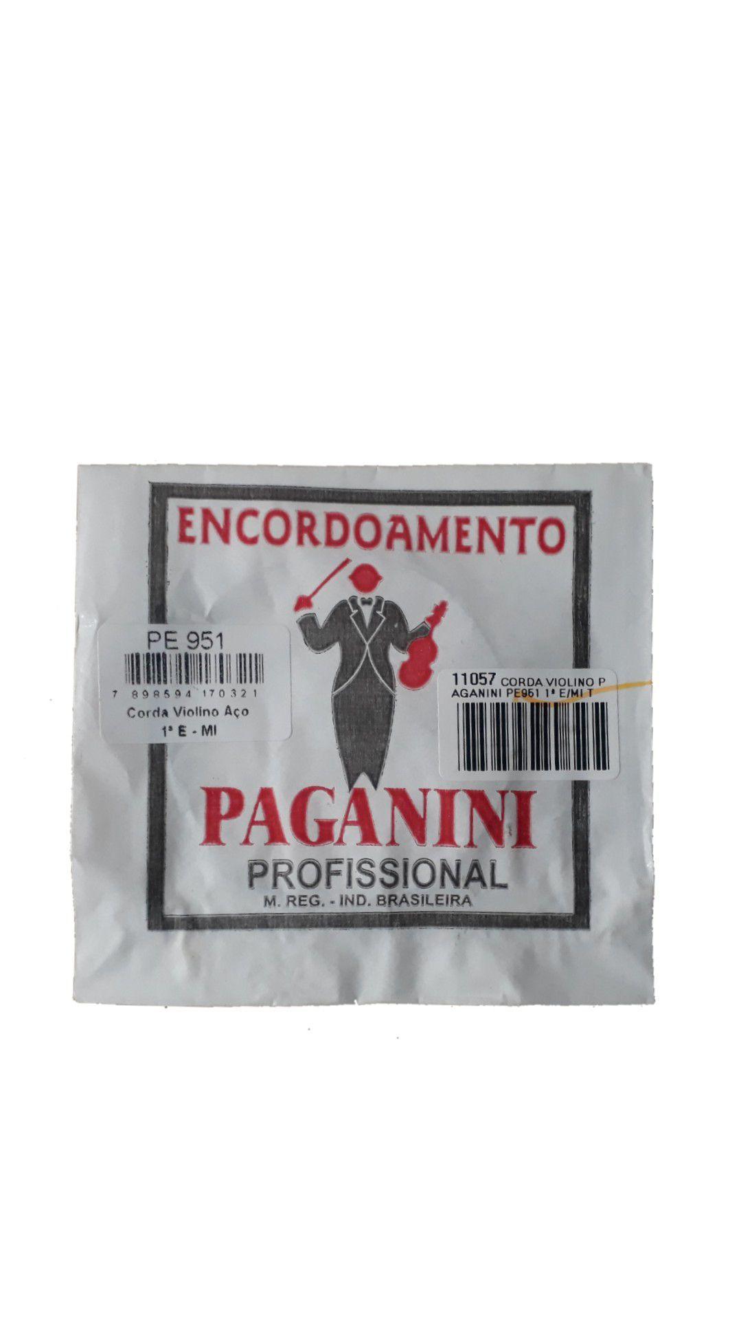 Corda violino Paganini Pe951 1ª E/mi