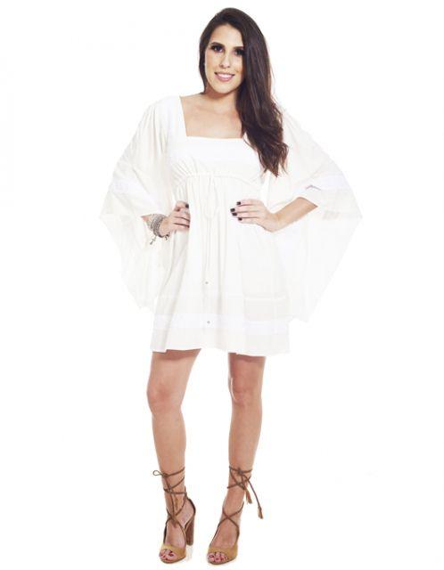 Vestido OCNA BRASIL Boho Branco