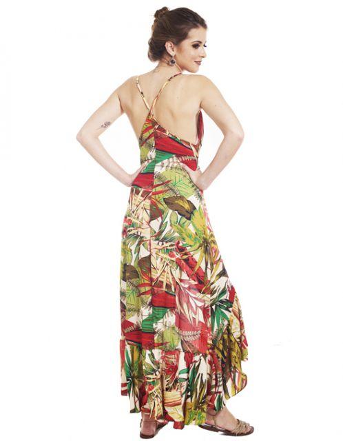 Vestido OCNA BRASIL de Alcinhas Catléia Vermelho