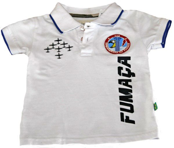 Camisa Pólo Fumaça Infantil