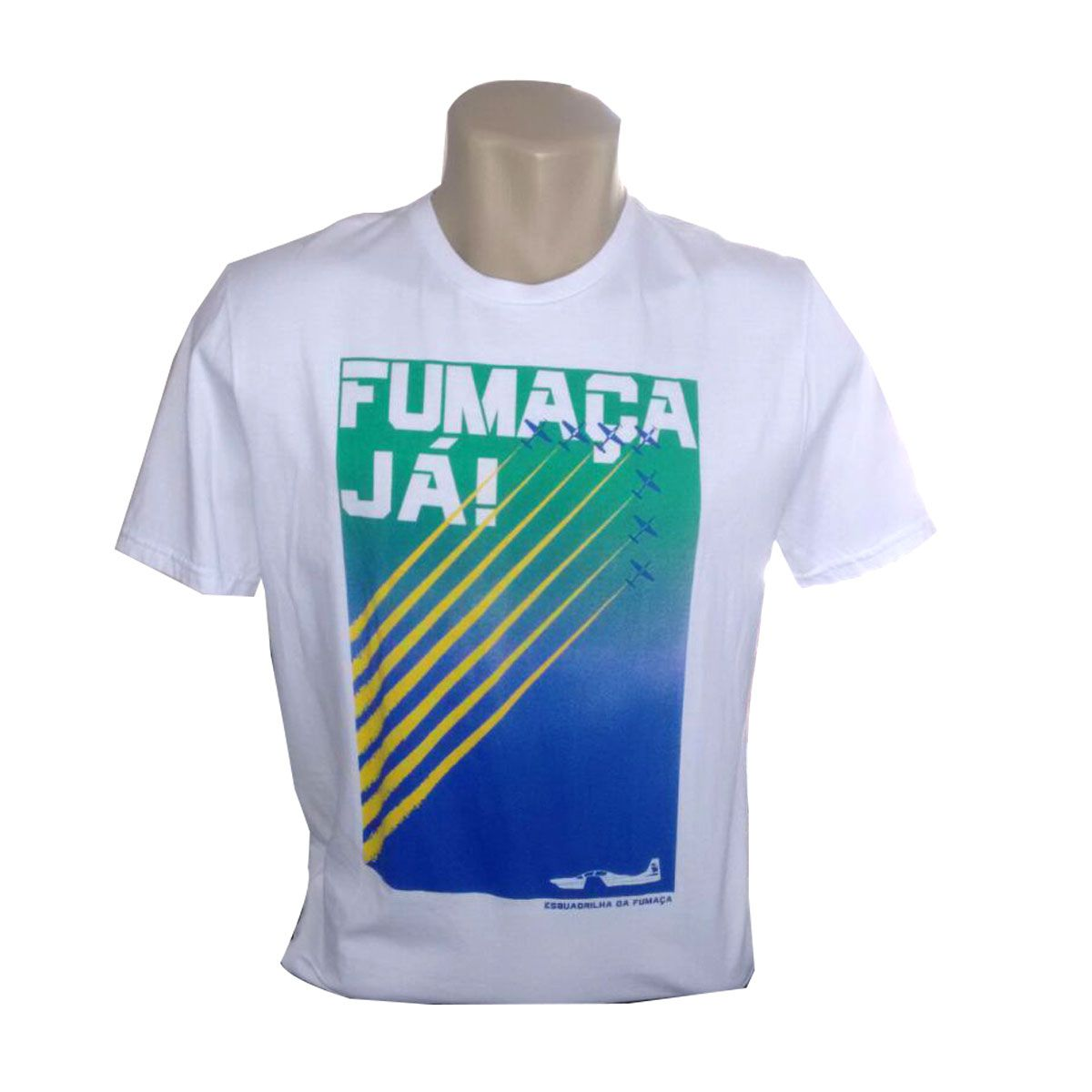 Camiseta Fumaça já Masculina