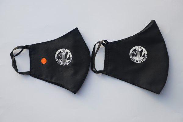 Máscara com Logo da Esquadrilha da Fumaça