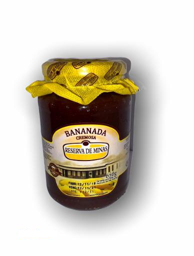 Bananada Cremosa Reserva de Minas 650g  - Empório Don Patto