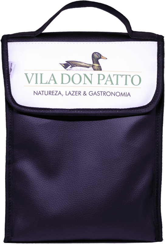 Bolsa Térmica para 2 garrafas de Vinho  - Empório Don Patto