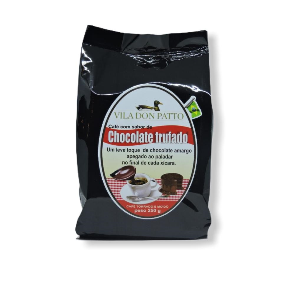 Café Saborizado Chocolate Trufado 250g  - Empório Don Patto