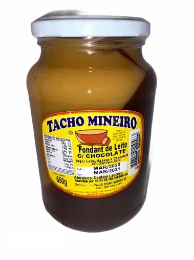 Fondant de Leite com chocolate Tacho Mineiro 650g  - Empório Don Patto