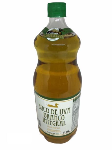 Suco de Uva Branco Integral Don Patto 1,5L  - Empório Don Patto