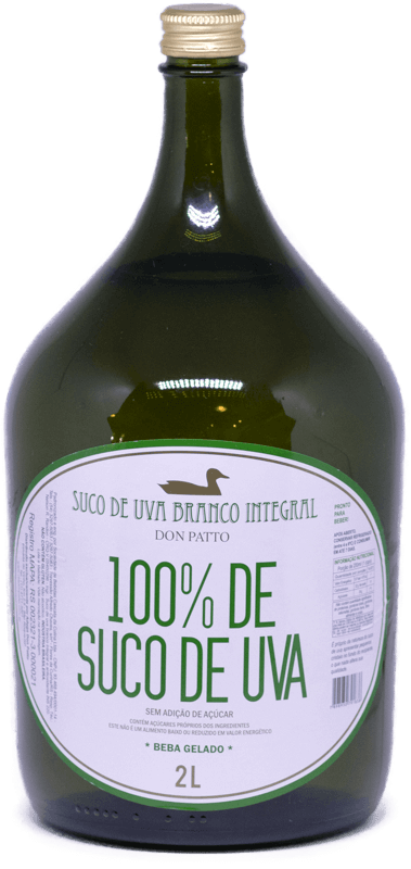 Suco de Uva Branco Integral Don Patto 2 litros  - Empório Don Patto