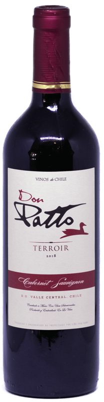 Vinho Chileno Don Patto Terroir Cabernet Sauvignon 2019  - Empório Don Patto