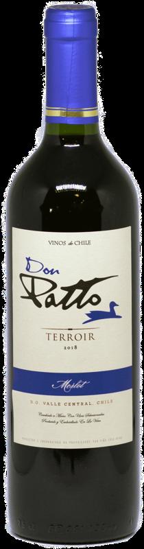 Vinho Chileno Don Patto Terroir Merlot 2019  - Empório Don Patto