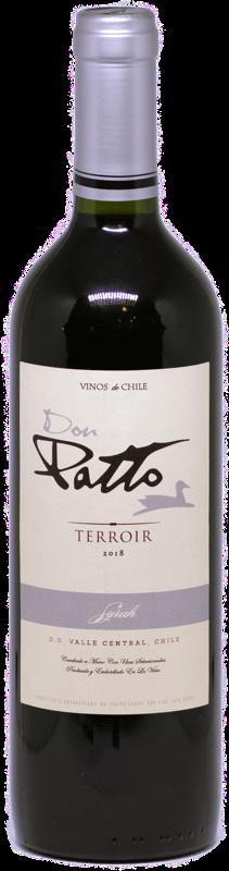 Vinho Chileno Don Patto Terroir Syrah 2019  - Empório Don Patto
