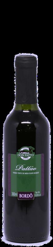 Vinho Pattão Tinto de Mesa Suave Bordô 360ml  - Empório Don Patto