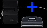 KIT FISCAL - SAT EPSON A10 + IMPRESSORA TM-T20X USB/SERIAL