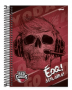 Caderno Red Canids Spiral