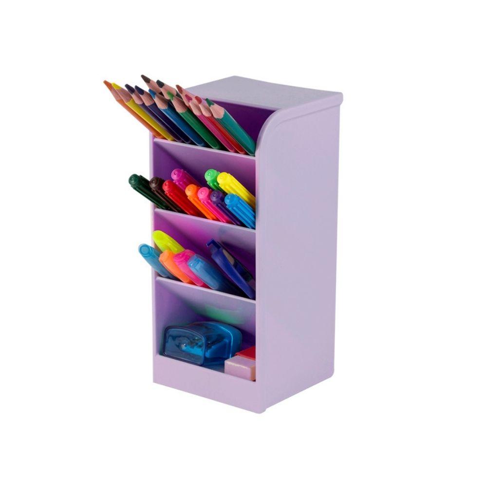 Organizador de canetas G - Lilás