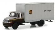 Miniatura Caminhão Bau International DuraStar UPS HD Trucks Serie 15 1/64 Greenlight