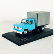 Miniatura Caminhão Dodge D400 Box Van 1/43 Whitebox