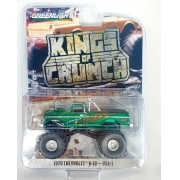 Miniatura Chevrolet K 10 1970 Monster Truck Greenmachine 1/64 Greenlight