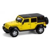 Miniatura Jeep Wrangler Rubicon 2008 1/64 Greenlight