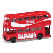 Miniatura Ônibus London Bus Coca Cola Corgi