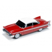 Miniatura Plymouth Fury Christine 1958 1/64 Auto World